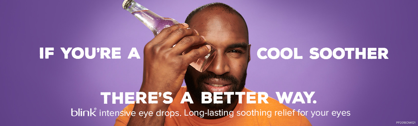 blink® If you're a cool soother there's a better way