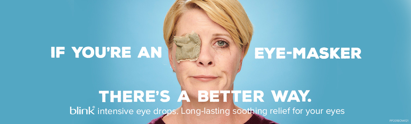 blink® If you're an eye-masker there's a better way