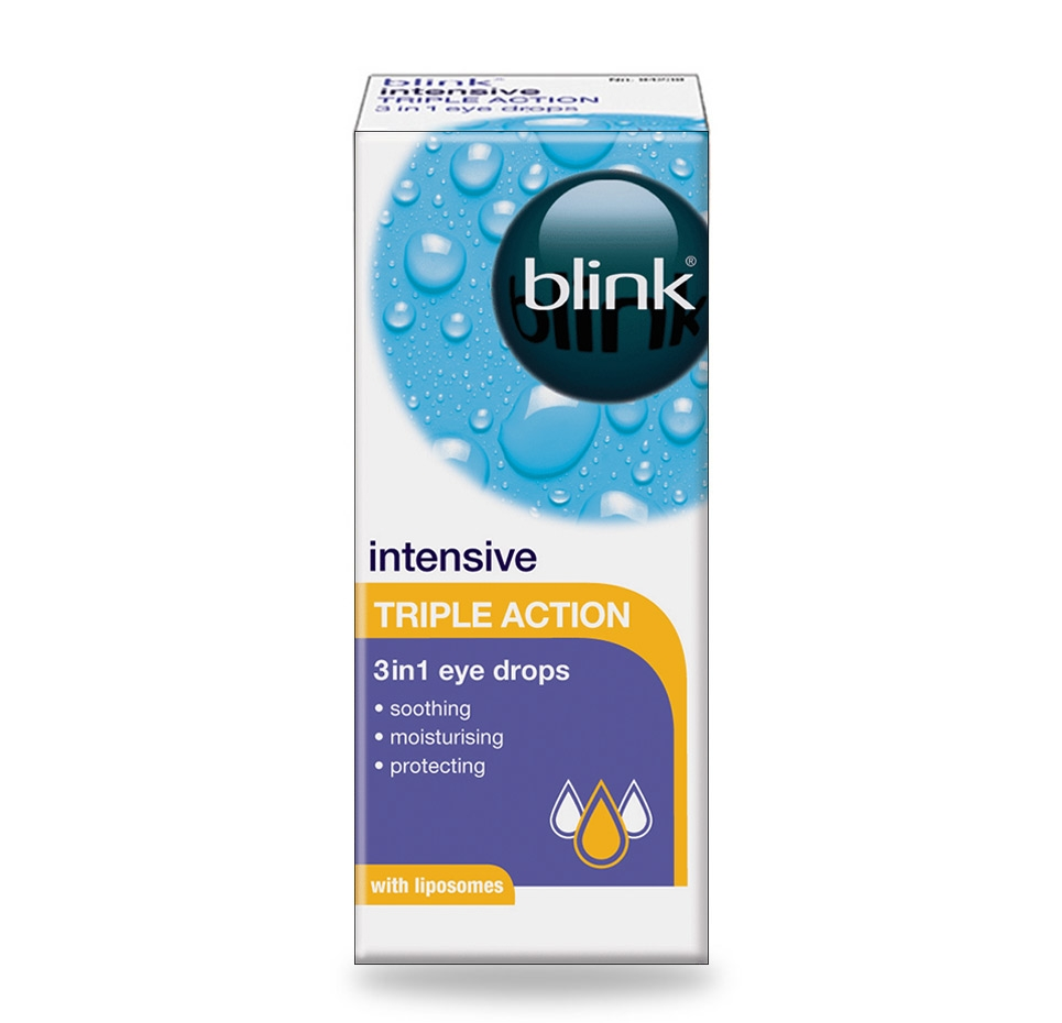 blink® intensive TRIPLE ACTION eye drops
