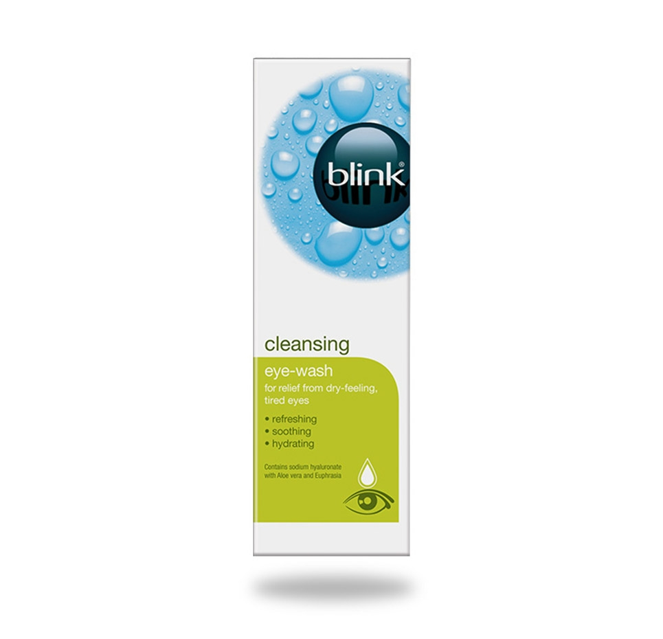blink® cleansing eye wash packshot
